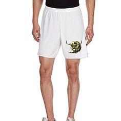GXGML FF Game Hironobu Sakaguchi Skeleton Head Summer Men's Shorts Household Men's Breeks Tackle Football Training Pantsbreeks White - Brought to you by Avarsha.com