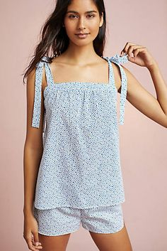 Anthropologie Favorites:: Newest Arrivals - Anthropologie Clothing, Shoes, Bags,Accessories, Home Decor New Outfits, Summer Outfits, Casual Outfits, Fashion Outfits, Womens Fashion, Sleepwear Women, Pajamas Women, Night Suit For Women, Anthropologie Clothing
