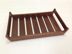 Teak wood serving tray