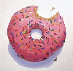 Homer's Pink doughnut ~ Terry Romero Paul