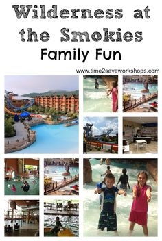Wilderness at the Smokies Must Do Family Fun! Tennessee's Largest Waterpark Resort & Family Adventure Center #vacation #familyfun