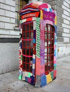 "Some ""yarnbombing"" ideas are a little too much for me, while others are adorable."