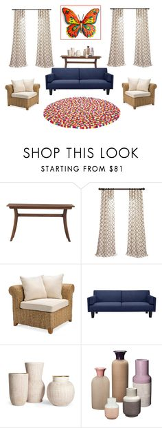"""Eclectic decors."" by cheetakat12 on Polyvore featuring interior, interiors, interior design, home, home decor, interior decorating, Moe's Home Collection, Pottery Barn and Dorel"