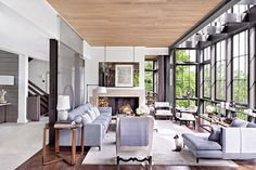 Tour Ray Booth and John Shea's Grand Hilltop Home in Nashville | Architectural Digest