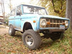 I want to rebuild an old Bronco with one of my kids for their first car.