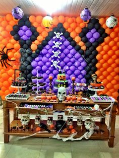 Decoração festa infantil Halloween