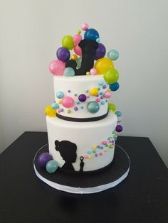Bubble Cake, Ideas Para Fiestas, 9th Birthday, Childrens Party, Creative Cakes, Cakes And More, Cake Toppers, Cake Decorating, Bubbles