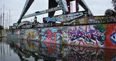 graffiti amsterdam - Google zoeken Amsterdam, Graffiti Workshop, Kai, Holland, Street Art, Fair Grounds, Prints, Canvas, Travel