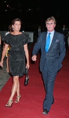 Ernst of Hanover and Princess Caroline in 2007 /'Valentino In Rome, 45 Years Of Style' Exhibition Opening