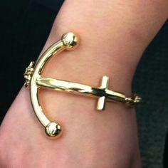 "My new Kate Spade New York ""Anchors Away"" Bracelet."