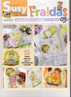 Pintura Tecido - Coleção Susy - Fraldas - 3 - carlosdanielluise - Álbuns da web do Picasa