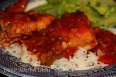 Crockpot Chicken Sauce Piquante