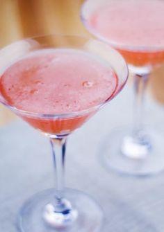 Pink Grapefruit Masquerade Martinis