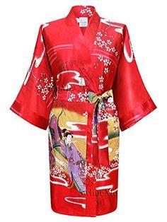 Swhiteme Women's Kimono Robe, Short, Geisha, Red Swhiteme http://www.amazon.com/dp/B012Q6P8I4/ref=cm_sw_r_pi_dp_C0X.vb0BCRANA