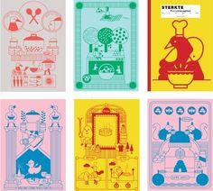 It takes Sue to tango » Blog Archive » mini postcard sized cook book — Designspiration