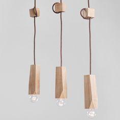 Дерев'яний LED світильник EP-3 – Easy / Деревянный LED светильник EP-3 – Easy Custom Lighting, Modern Lighting, Lighting Design, Light Fittings, Light Fixtures, Ceiling Lamp, Ceiling Lights, Rustic Table Lamps, Bamboo Light