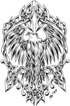 celtic tattoo designs by on deviantART Celtic Tattoos, Viking Tattoos, Tattoo Symbols, Celtic Symbols, Celtic Art, Tattoo Design Drawings, Tattoo Designs, Design Tattoos, Arm Tattoo