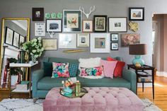 House Tour: A Florist's Fun & Vibrant Charlotte Home | Apartment Therapy