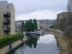 Virtual Journey along the Rochdale Canal --  Sowerby Bridge to Hebden Bridge