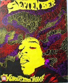 | Jimi Hendrix, Fehmarn 1970 |