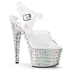 Pleaser Shoes Bejeweled