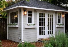 Sonoma Sheds: Backyard House Shed with Stylish Hip Roof
