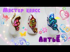 Floral Pink Nail Art | Spring-Summer Nails ♥ Цветочный Дизайн Ногтей - YouTube