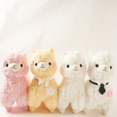 This may be the most romantic Alpacasso plushie series Amuse has released! The Bridal series includes two blissful grooms, White and Beige, and two gleeful brides, Flower and Peach. Whomever they choose to marry, we wish them a happy wedding and splendid thereafter! White and Beige are both wearing ties and a boutonnière. Peach and Flower are wearing a veil and headband, respectively. This special...