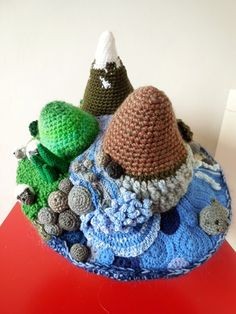 the amazing crochet hat designed by student Eveyln | Flickr - Photo Sharing!