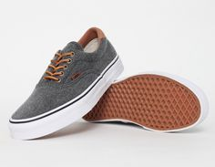 #Vans Era 59 Denim Black