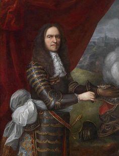 Henri de La Tour d'Auvergne, vicomte de Turenne (1611-1675) – by Pierre Mignard (1612-1695).