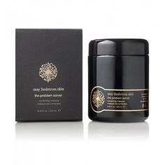 The Problem Solver Correcting Masque from May Lindstrom Skin. With fuller's earth clay, red moroccan rhassoul clay and raw cacao.