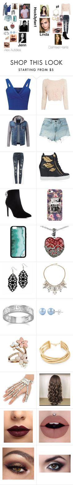 """""""Alex and Danneel in chapter 17 IIDFY"""" by alexandraautidiea9 on Polyvore featuring Miss Selfridge, Coast, T By Alexander Wang, WithChic, Giuseppe Zanotti, Charles David, Lord & Taylor, ABS by Allen Schwartz, BillyTheTree and Accessorize"""
