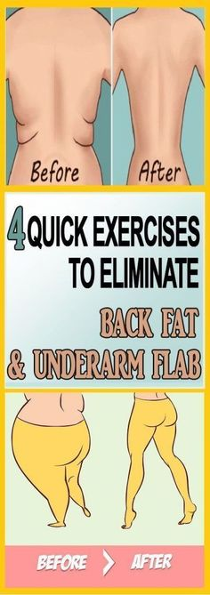 Often, even though you may look great and attractive, if you have some extra fat on the back, you will still be unconfident in your body. Underarm fat and the fat on the back are a serious issue, particularly aesthetic one, and are not easily solved. However, these 4 exercises that we suggest will provide the quickest effects, and help you love the way you look: 1. Push and Touchtargets your chest, shoulders, and upper back. – Stand with feet shoulder width apart, arms down by your sides…