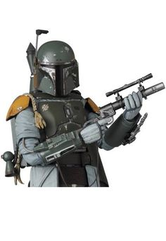 ToyzMag.com » Star Wars – Mafex : images presse Boba Fett