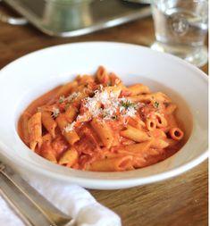 Jenny Steffens Hobick: Shrimp fra Diavolo with Penne | Slightly Spicy Tom...