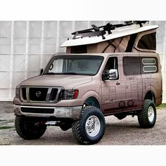 Thoughts on an off-roading van?