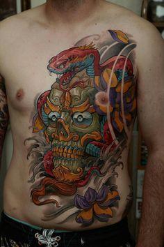 Gorgeous tibetan skull