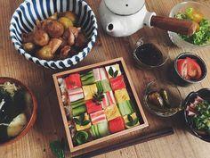 Made in Japão: mosaicos de sushi