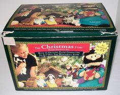 #Christmas Story Plush Nativity 13 PC #DMCP Mary Jesus Joseph Doll Complete Set #NativityPlush