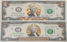 2 USD mạ vàng 3D giá rẻ tại hcm