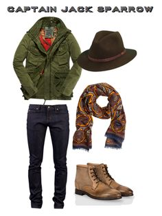 Dapper Male Fashion| Serafini Amelia| Disney #Menswear In Real Life: Jack Sparrow
