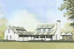 Farmhouse Style House Plan - 3 Beds 2.5 Baths 2218 Sq/Ft Plan #901-103 Exterior - Front Elevation - Houseplans.com