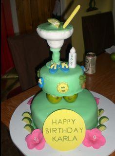 Margarita themed cake