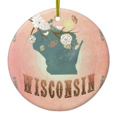 50-State Christmas Ornaments   From the 50 State Holiday Ornament ...