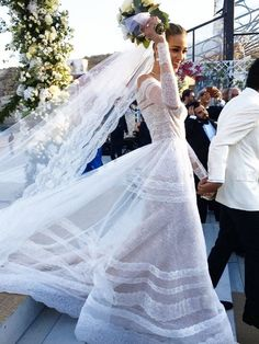 This Victoria's Secret Model Had the Most Epic Greek Wedding—See the Pics | WhoWhatWear