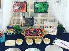Maths Sorting Provocation from My Teaching Cupboard Reggio Emilia Classroom, Eyfs Classroom, Classroom Layout, Classroom Setting, Classroom Design, Classroom Organization, Classroom Decor, Play Based Learning, Kids Learning Activities