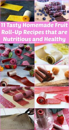 11 Tasty Homemade Fruit Roll-Up Recipes that are Healthy and Nutritious - DIY & Crafts