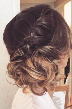 30 Top Wedding Updos For Medium Hair ❤ See more: http://www.weddingforward.com/wedding-updos-for-medium-hair/ #wedding #hairstyles #UpdosMediumHair