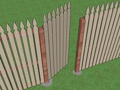 How To Make A Fence Gate